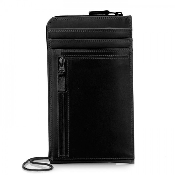 Neck Purse/Wallet Black