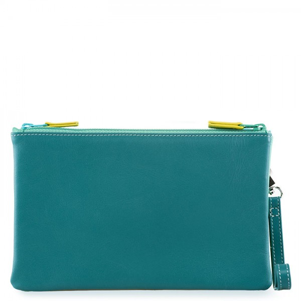 Small Double Zip Pouch Mint