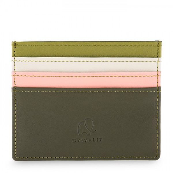 Credit Card Holder Olive