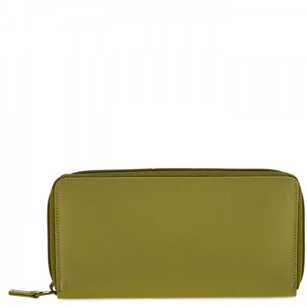 Zip Around Purse Olive