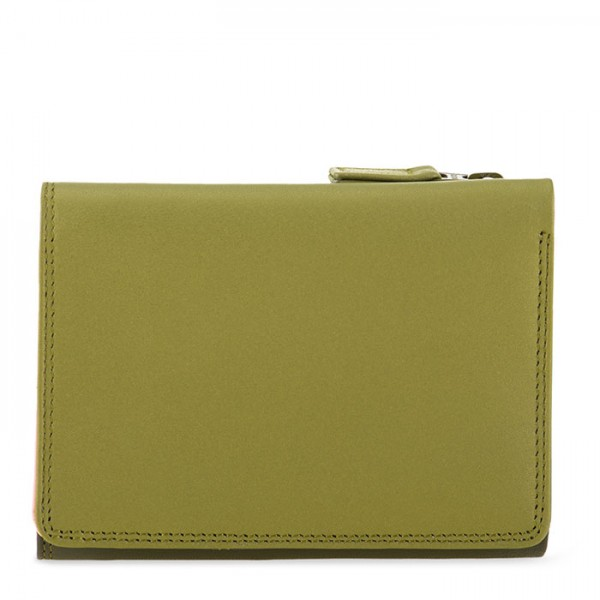 Small Tri-fold Wallet Olive