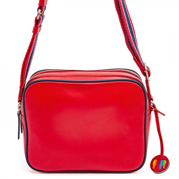 Auckland Double Zip Camera Bag Red