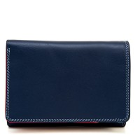 Men's Tri-fold Leather Wallet Royal