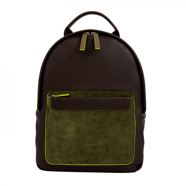 Havana Small Leather Backpack Toscana/Mlti