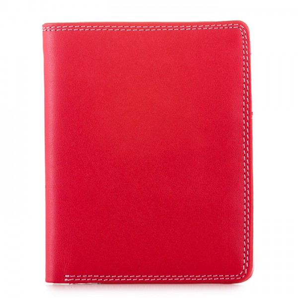 Medium Slim Wallet Ruby