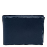 Men's Jeans Leather Wallet Royal