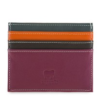 Double Sided Credit Card Holder Chianti