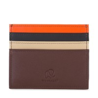 Double Sided Credit Card Holder Cacao