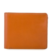 RFID Standard Men's Wallet with Coin Pocket Tan-Olive