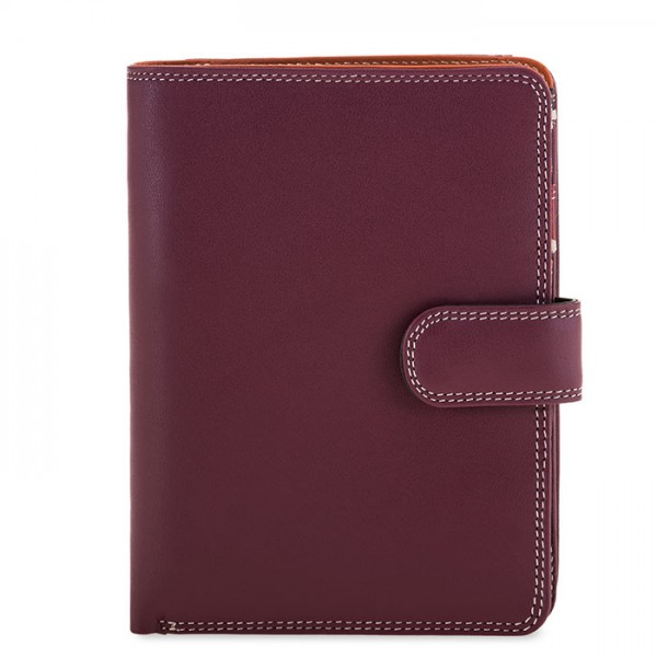 Large Snap Wallet Chianti