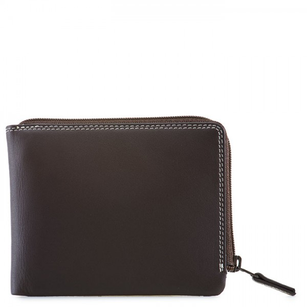 Zip Around Men's Wallet Mocha