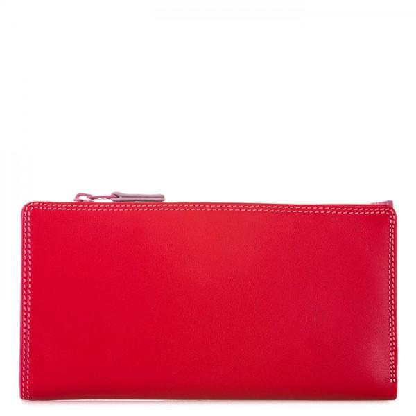 Geldbörse mit Reißverschluss und 12 Kartenfächern Ruby