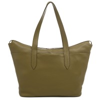 Bergamo Large Shoulder Bag Olive