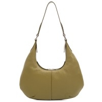 Bergamo Small Shoulder Bag Olive