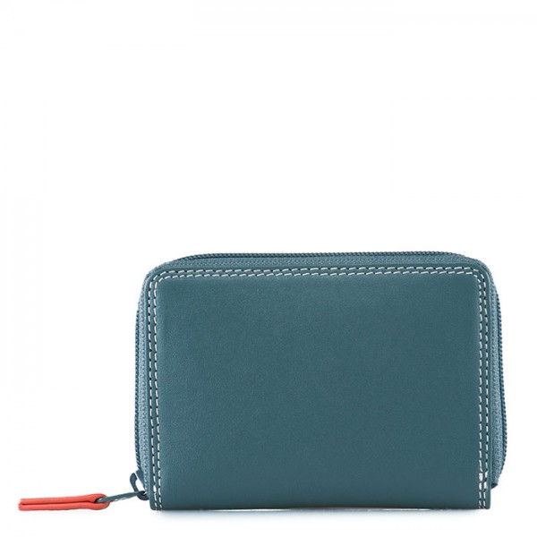 Zip Around Coin Purse Urban Sky