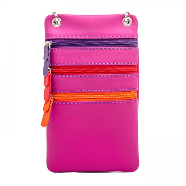 Travel Neck Purse Sangria Multi