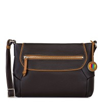 Marseille Zip Top Crossbody Brown