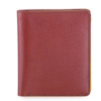 RFID Classic Men's Wallet Brown-Yellow