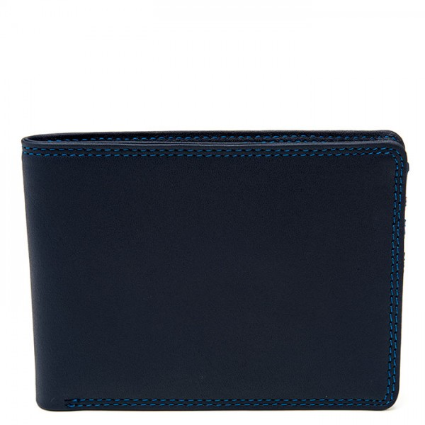 Men's Jeans Leather Wallet Kingfisher