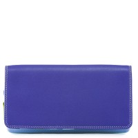Flapover Wallet with Coin Section Lavender