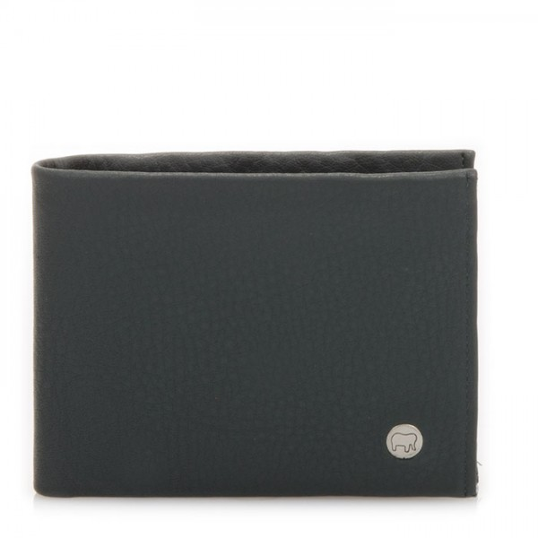 Panama Wallet with Coin Pocket Smokey Grey