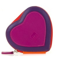 Heart Purse Sangria Multi