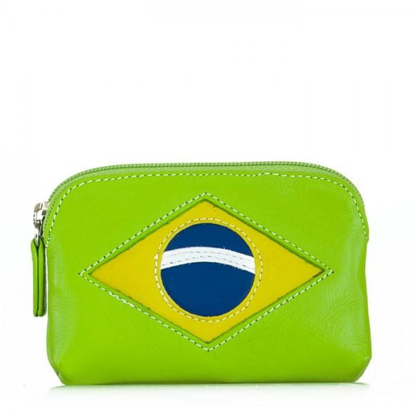 Porte-monnaie drapeau Brésil