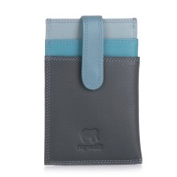 Money Clip CC Holder Smokey Grey