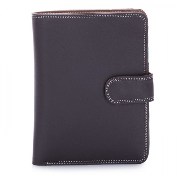 Large Snap Wallet Mocha