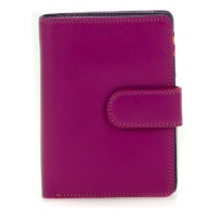 Medium Snap Wallet Sangria Multi