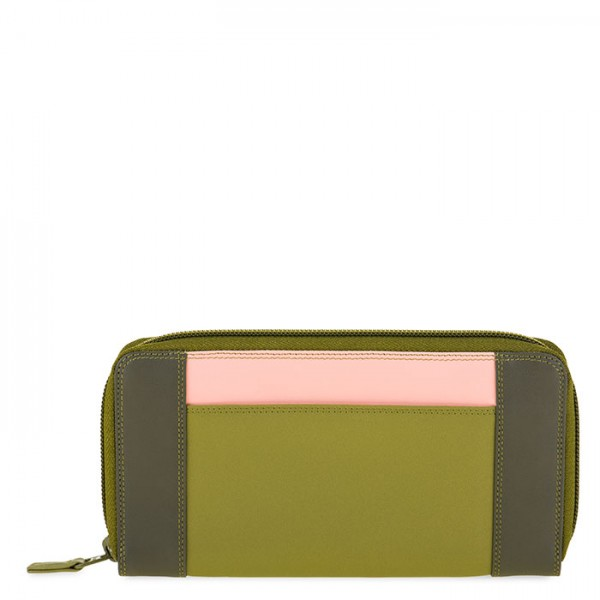 Large Zip Wallet Olive