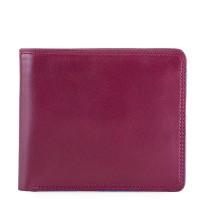 RFID Standard E/W Men's Wallet Plum-Caribbean