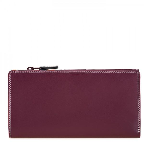 12 CC Zip Wallet Chianti
