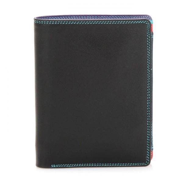 Wallet w/inner Leaf & Coin Pocket Black Pace