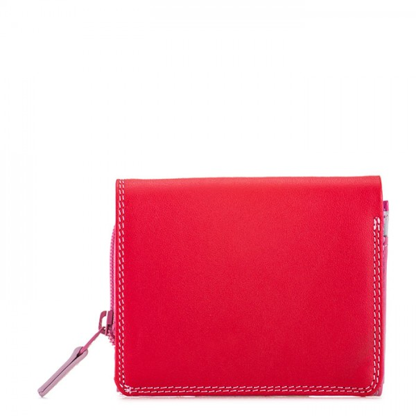 Flapover Coin Purse Ruby