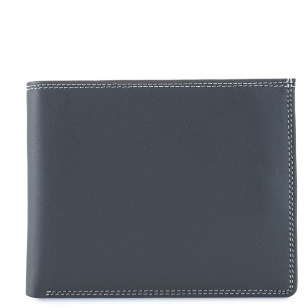 RFID Large Men's Wallet w/Britelite Storm