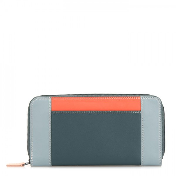 Large Zip Wallet Urban Sky