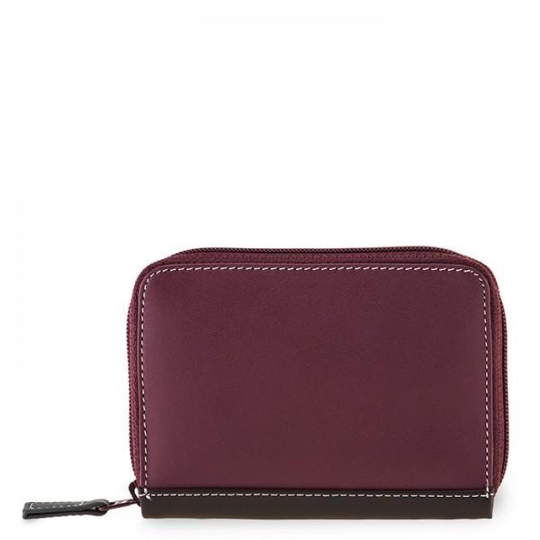 Zipped Credit Card Holder Chianti