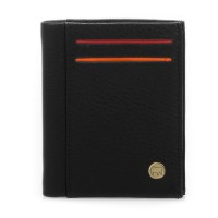 Panama Medium Wallet Black