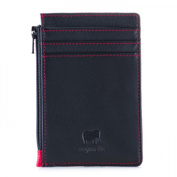 RFID Credit Card Holder with Coin Purse Black