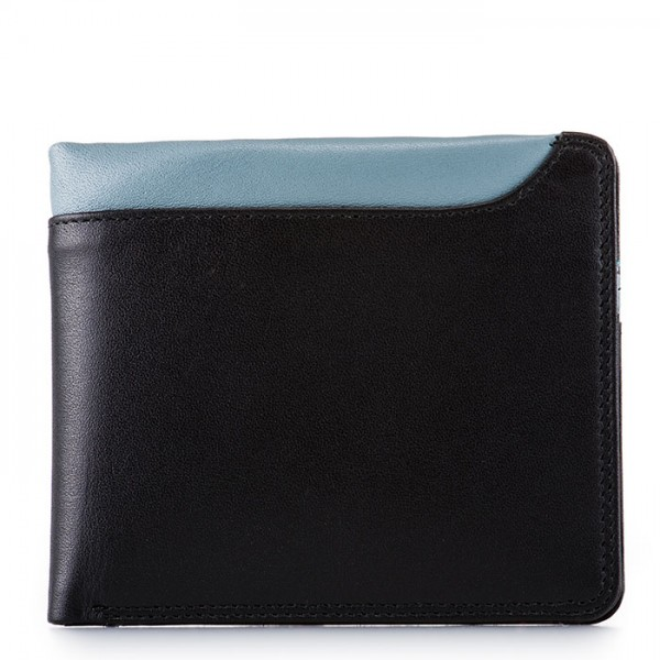 Greenwich Wallet with Removable CC Holder Black