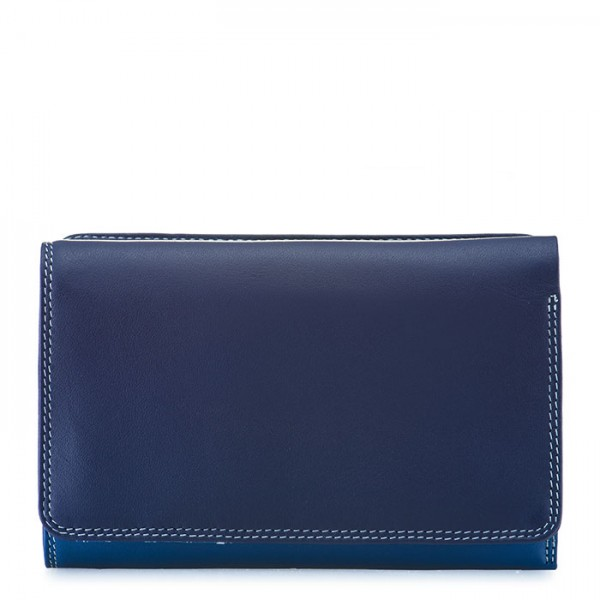 Medium Tri-fold Wallet Denim