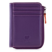 RFID Small Zip Purse Purple
