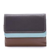 Small Double Flap Wallet Mocha