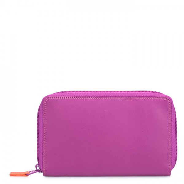 Zip Around Wallet w/Phone Pocket Sangria Multi