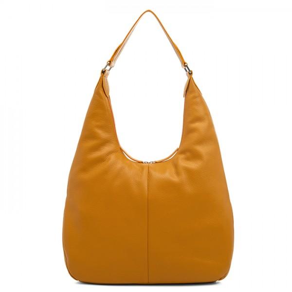 Bergamo Large Shoulder Bag Yellow