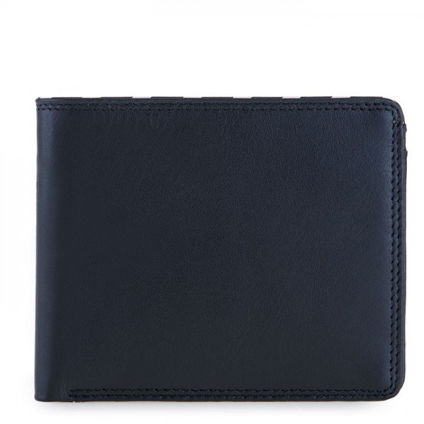 Venice Standard Wallet with Coin Purse Black