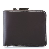 Classic Wallet w/Zip Section Mocha