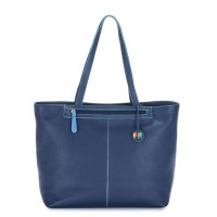 Naples Large Tote Blue