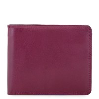 RFID Standard Men's Wallet with Coin Pocket Plum-Caribbean